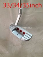 Wholesale 1pc New Newport2 Putter Golf With inch Steel shaft golf club Headcover EMS