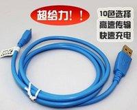 Colorido inteligente de carga 5Pin cable USB Micro Data Negrita sincronización cable cargador para Samsung S4 S5 NOTE2 HTC ZTE HUAWEI Blackberry