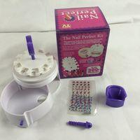 Wholesale gelish nail polish Nail Perfect Salon Art Tool Instrument Toiletry Kit of Nursing Nail Art Device Nail Painting Kit nail art decorations