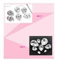 Wholesale Single claws drilling ultra flash ITC AAA diamond drill DIY claw glass Sew Sew single claw diamond wedding dress