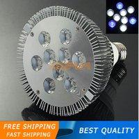 Wholesale New E27 W White Blue LED Coral Reefs Grow Light Fish Tank Aquarium Lamp AC85 nm nm K