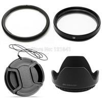 Wholesale 100 Guarantee Accessory mm Lens Cap mm UV lens hood mm Metal Filter Adapter Ring FA DC58C For Canon G1X Camera
