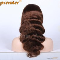 swiss lace wig - 100 Indian Remy human hair wig quot quot Body Wave Swiss Full Lace Wigs Human Hair Wig