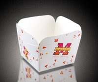 Wholesale Halloween cupcake liners Cake Paper Cup Cake boxes