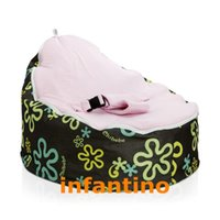 Wholesale Flash with pink seat various style large super soft bean bag baby bean bag