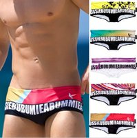 Wholesale Top quality Aussi Mens beach pants mens Swimming Shorts Quick Dry swim Trunks Mens Swimwear mens underwear sexy briefs D239