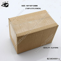 Wholesale x105x135MM Corrugated Cardboard Box Recyclable Packing Paper Box Three Layers for Packaging Mailing
