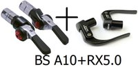 Wholesale Special package carbon TT brake levers TT shifter Tektro TT brake levers RX5 and Tektro bar end shifter BS A