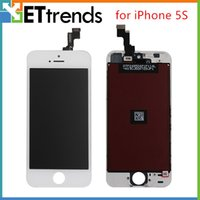 Wholesale Grade AAA No Dead Pixel for iPhone S C LCD Display Touch Screen Digitizer Assembly IOS Work Good AA0438