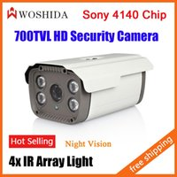 Wholesale 700TVL MP Bullet Camera HD Array IR LED CCTV Security Camera Night Vision Waterproof OSD Woshida