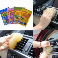 Wholesale Magic Super Clean Car Cleaning Transparent Cleaner Sponge Products Glue Auto Universal Keyboard Microfiber Dust Gel Tools Car accessories