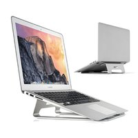 aluminum macbook stand - New Design Aluminum Laptop Stand For MacBook Air Pro Pro Retina Cooling Pad For Notebook to inch