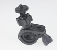 Wholesale F07132 O Type Screw Head Stand Tripod Mount for Car DV Camera Recorder Motorcycle Bicycle FreeShip