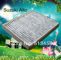 ac cabin filter - CUK2129 Large finely car black carbon cabin air filter for Suzuki A10auto part cm AC J A3