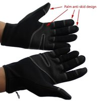 Wholesale Outdoor Sports Gloves Tactical Mittens Men Women Winter Keep Warm Bicycle Cycling Hiking Gloves Military Motorcycle Skiing Glove