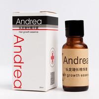 Wholesale Andrea Hair Growth Essence Hair Loss Liquid ml Dense Hair Fast Sunburst Hair Growth Grow Restoration Pilatory B0353 MOQ100