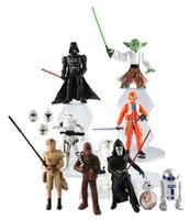 figurines - Star Wars design The Force Awakens Figurine toy Black Knight Darth Vader Stormtrooper PVC Action Figures CM Boy Toys