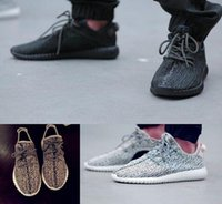 Wholesale Newest kanye west Milan Fashion Yeezy Boost Flying wire braid Breathable New Sneaker For Man Woman Shoes Running Shoes