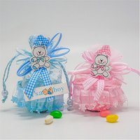 baby birthday gift baskets - 2016 New Lovely Candy Basket Baby Show Candy Box Birthday Party Decorations Kids Casamento Wedding Favors And Gifts