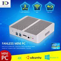 barebones htpc - Kingdel New Fanless Mini Computer HTPC Intel i5 U Turbo Boost Ghz barebones HDMI LAN Optical USB Year Warranty
