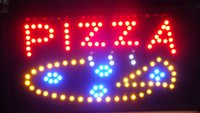 pizza sign - Led Pizza Neon Sign billboard indoor advertising size inch