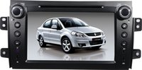 mp3 mp4 touchscreen - Car DVD Player GPS Navigator Stereo Multimedia with Touchscreen Monitor Support Bluetooth for Suzuki SX4