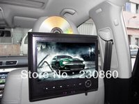 Wholesale 9 Inch Car Headrest DVD Player Support MP3 And Bit Native Games And IR FM Wireless Transmission