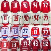 77 - Washington TJ Oshie Hockey Jerseys Alex Ovechkin Braden Holtby Nicklas Backstrom Evgeny Kuznetsov Brooks Orpik