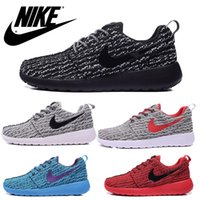 Cheap NIKE Roshe One x Yeezy 350 Boost low men runing shoes cheap nikelis roshe run athletic shoes breathable summer Men nike Roshes sports shoes