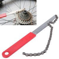 Wholesale Carbon Steel Bike Cassette Flywheel Wrench Bicycle Flywheel Chain Disassembly Wrench Herramientas Bicicleta Bicycle Accessories