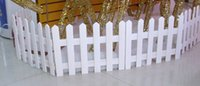 wooden fence - 160 Christmas tree fence fence long CM high wooden fence wood fence white wooden fence