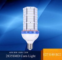 led light bulb 100w - SMD Led corn bulb E27 E40 B22 W W W W Led Corn Light Angle Super Bright Led lamp corn bulb lighting White Warm AC100 V