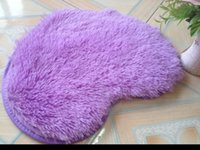 area rug cushion - Hot Dimensions Colors Heart Long Plush Shaggy Soft Carpet Area Rug Slip Resistant Floor Mat Cushion Fashion