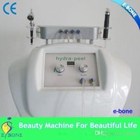 abs vacuum - BYI H005 Hottest in USA hydrofacial white ABS Material vacuum portable microdermabrasion machine with ce on sale