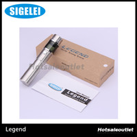 Cheap Sigelei Legend V2 Electronic Cigarette Mini Set VV VW Mechanical Mod for 18650 18350 battery OLED Screen 100% Original