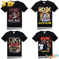 best mens tshirts - 2015 Hot Sale Fashion ACDC D Tshirts For Mens Element Clothing Shirt Print Designer Men Hip Hop Rock Music Best Friend Gifts