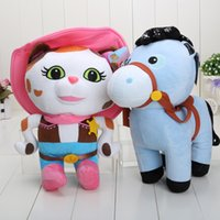 horse doll - 35cm Sheriff Callie s Wild West Sheriff Callie Cat and Horse Stuffed Doll Plush Toys