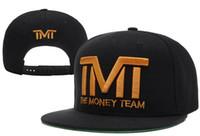 Wholesale TMT hats The Money Team Snapback hats Men baseball caps adjustable football sports hat cap for men and women Hip Hop cap