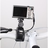 Wholesale Quick Release Gopro Handlebar Small Bike Camera Seatpost Black Traveling Motorcycle Camera Mount High Quality S050