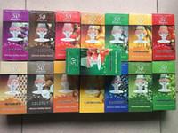 Wholesale 1 box Rolling Paper Hornet Flavor Rolling Paper Hand Cigarette Paper MM Juicy Fruit box flavor flavors
