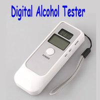 Wholesale Hot Sale Digital Alcohol Breath Tester Analyzer Breathalyzer LCD Freeshipping wholesales