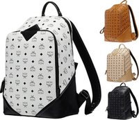 Wholesale new MCM backpack explosion models MCM bags Duke climbing Bag Backpack L pc by DHL