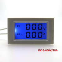 Digital Only ammeter shunt - 1pcs DC V DC A Voltage Ampere Meter LCD Display Digital Voltmeter Ammeter Power Supply DC V No Need Shunt