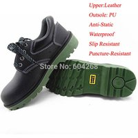 Wholesale Men s Safety Footwear Safety Shoes Pretection Shoes Work Shoes Leather Shoes size