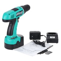 Wholesale Pro sKit Electric Drill Professional Cordless Drill Driver Rechargeable Electric Charging Screwdriver with Driver Bits