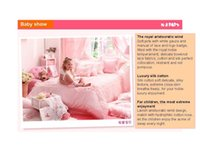 anne bedding - Four feet bed Luxury Bedding Set for Girl Children Pieces Princess Elegant and Luxury Bedding Set Baby Anne Mengjie