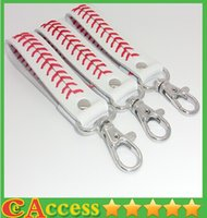 keychain - 2015 baseball keychain fastpitch softball accessories baseball seam keychains