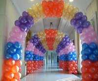 Wholesale 1200pcs Pearlised Latex Helium Inflable Thickening Pearl g and g Wedding Party Birthday Balloon decorations artificial decorations