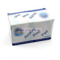alcohol eye - 100pcs Antiphlogosis Isopropyl Alcohol Swab Pads Piece Wipe Antiseptic Skin Cleaning Care