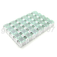 Wholesale White Component box HOT Sale ESD Antistatic component SMD box x x mm